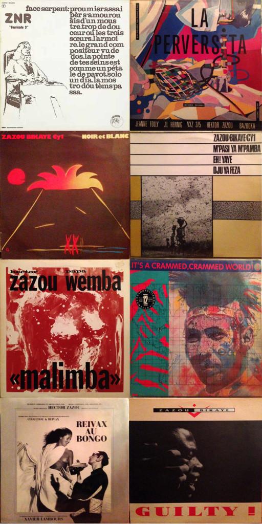 Zazou-records